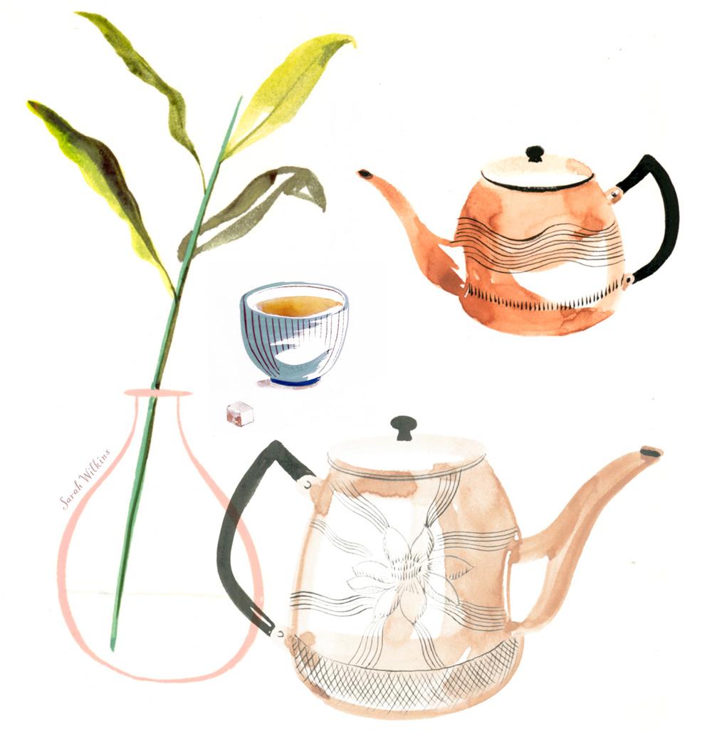 Sarah_Wilkins_illustration_illustrator_tea_time_watercolor