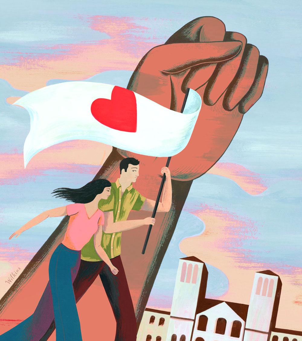sarah_wilkins_illustration_loving_activists_los_angeles_times