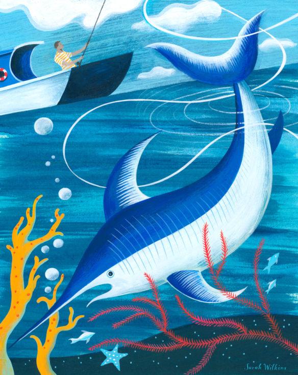 sarah_wilkins_illustration_big_fish_catch