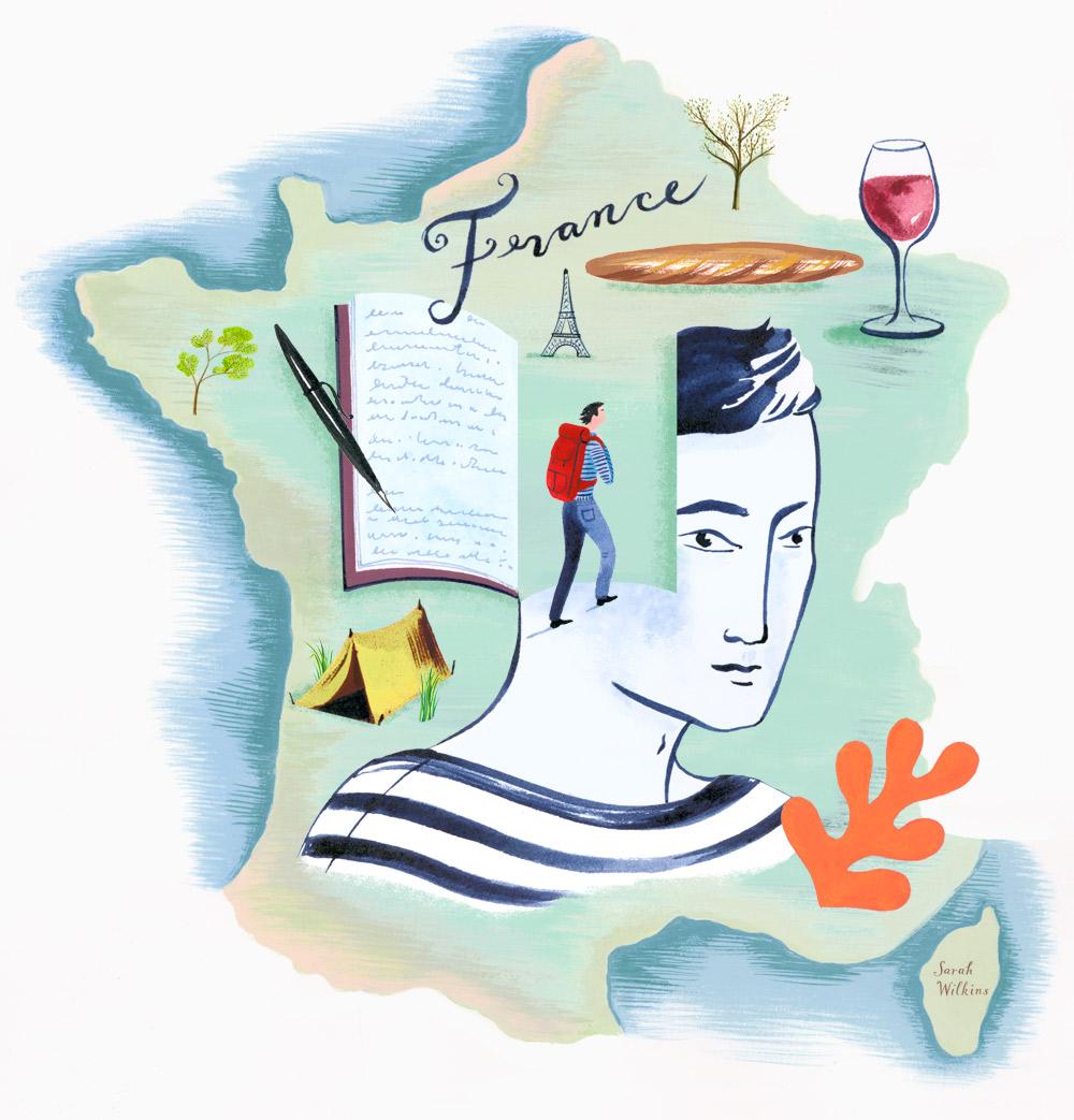 sarah_wilkins_illustration_france_map